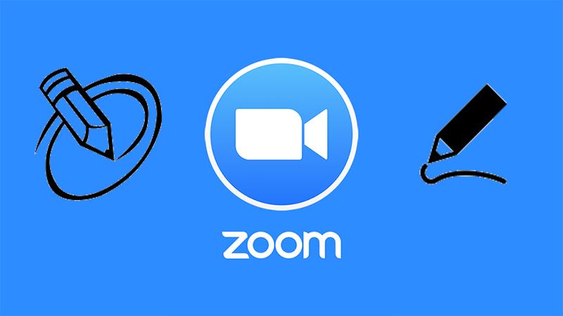 Cách vẽ hình trên Zoom Meetings cho máy tính, PC đơn giản