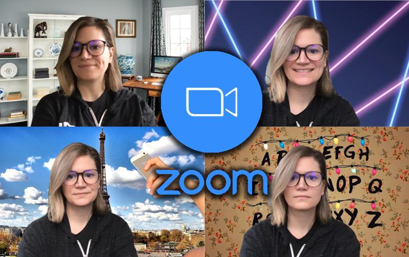 Cách đổi phông nền background trong nhà trên Zoom