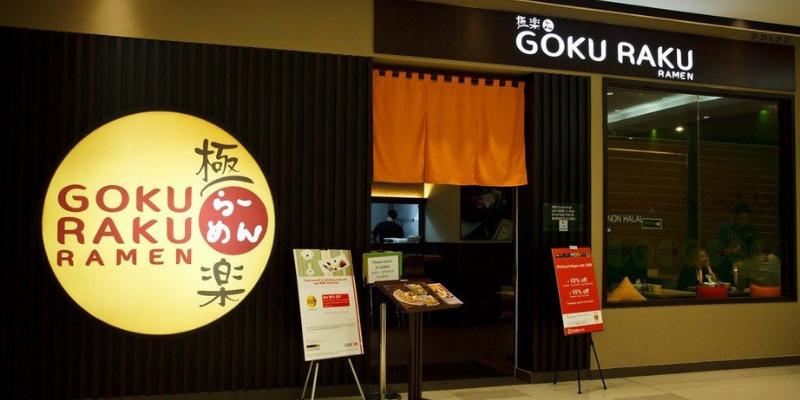 Không gian nhà hàng Goku Raku Ramen