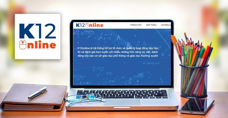 Cách đăng nhập, tham gia học online trên K12Online