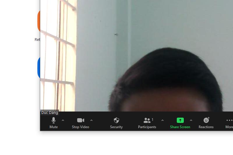 Bật mic Zoom