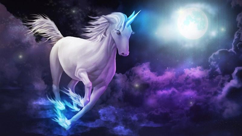 Hình nền Unicorn cute 4 - Kích thước 1920 x 1080