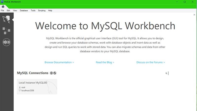 Vậy là bạn đã cài đặt MySQL thành công!