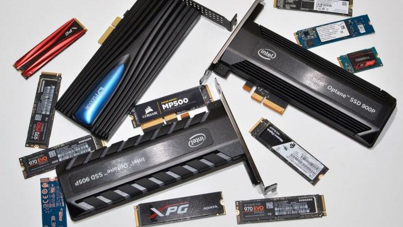 Các kích cỡ của ổ cứng SSD NVMe