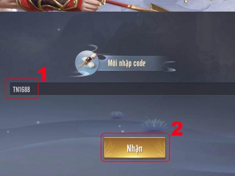 Nhập code bạn có