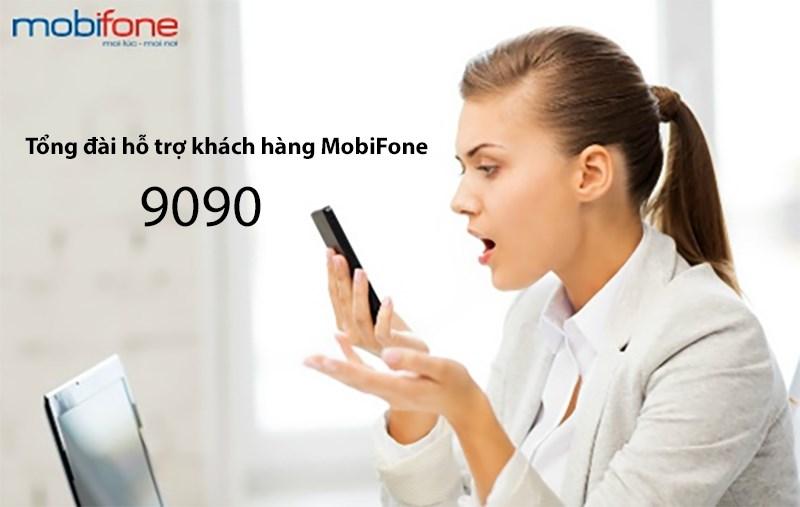 Tổng đài 9090 MobiFone