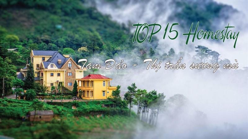 Top 15 homestay Tam Đảo giá tốt, view đẹp bạn không nên bỏ lỡ