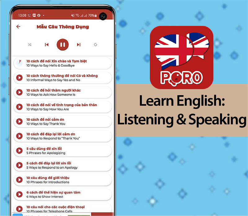 Ứng dụng Learn English