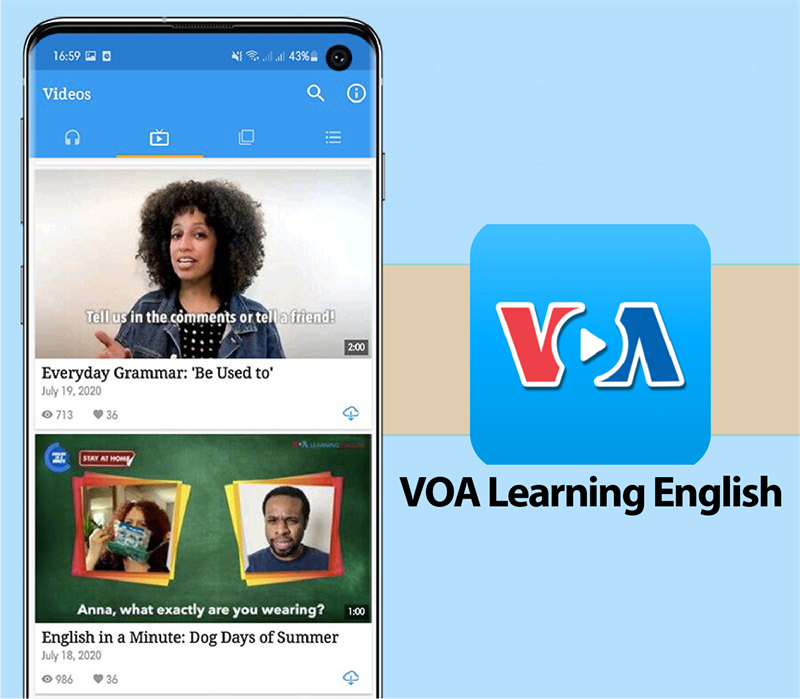 Ứng dụng VOA Learning English