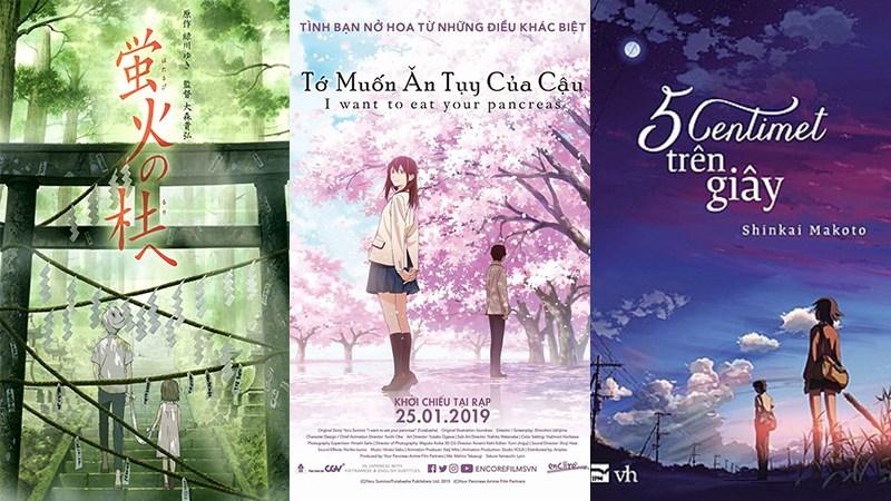 Top 10 phim hoạt hình anime về tình yêu, lãng mạn hay nhất nên xem