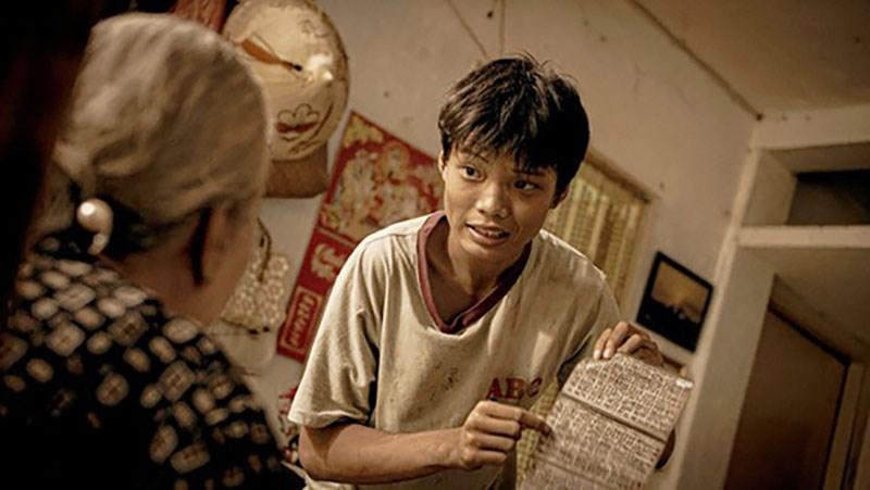 Trần Anh Khoa (vai Ròm) trong phim Ròm của đạo diễn Trần Thanh Huy - Ảnh: CJHK.