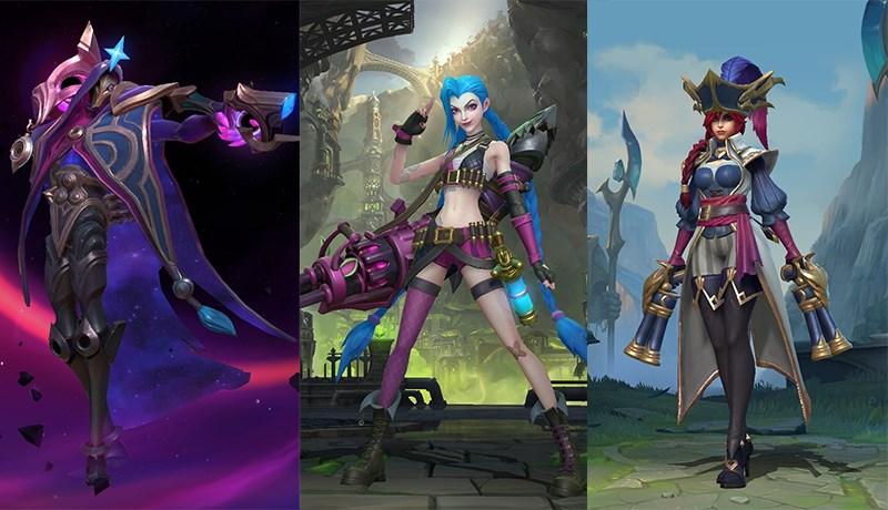 Jhin, Jinx và Miss Fortune là những vị tướng bị Kai'sa khắc chế