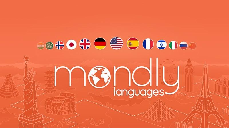 Ứng dụng Mondly - Học ngôn ngữ miễn phí