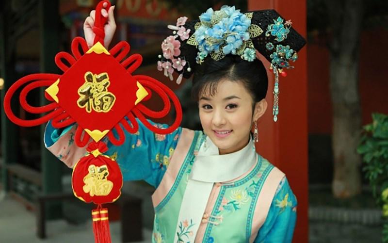 Nét đáng yêu tinh nghịch của Triệu Lệ Dĩnh trong Tân Hoàn Châu Cách Cách