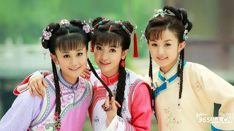 Bộ ba diễn viên trong Tân Hoàn Châu Cách Cách