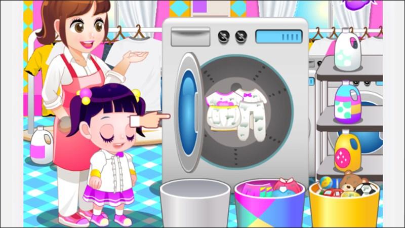 Tiệm giặt ủi trẻ em