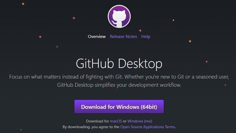 Phần mềm GifHub Desktop hỗ trợ nhà phát triển, lập trình viên
