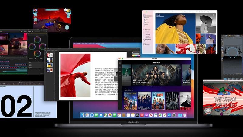 Danh sách ứng dụng chạy được trên Macbook chip Apple M1