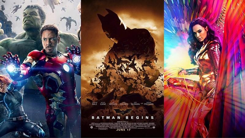 Top 10 bộ phim siêu anh hùng hay, mới nhất không thể bỏ lỡ