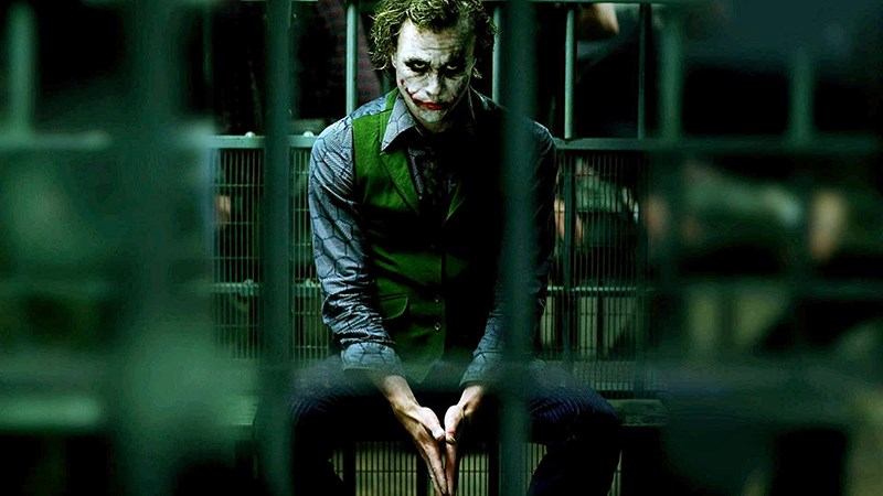 Joker tên tội phạm nguy hiểm trong Batman: Kỵ Sĩ Bóng Đêm