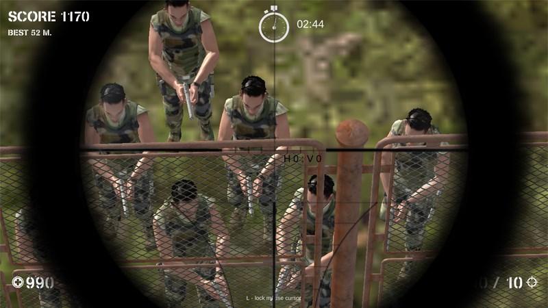 Game Nhiệm vụ lính bắn tỉa