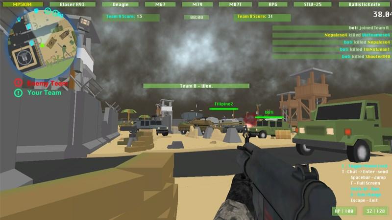 Game Chiến tranh quân sự 3D