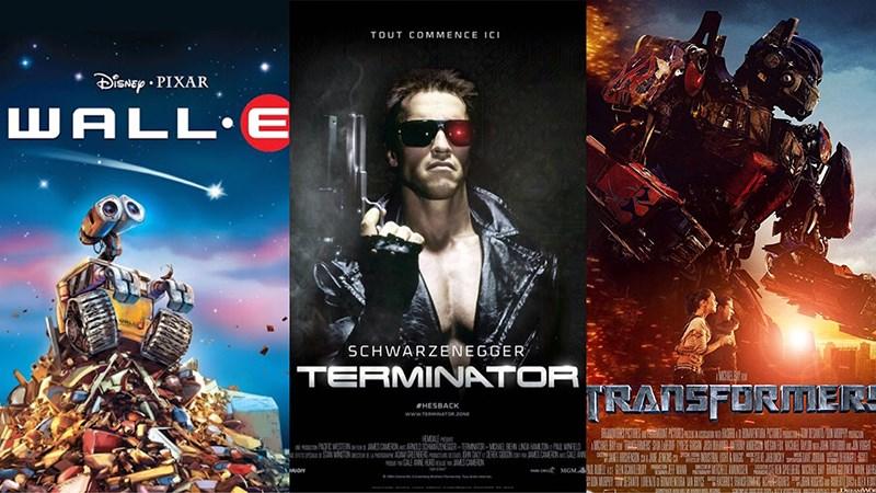 Top 10 bộ phim robot, người máy hay nhất mọi thời đại nên xem