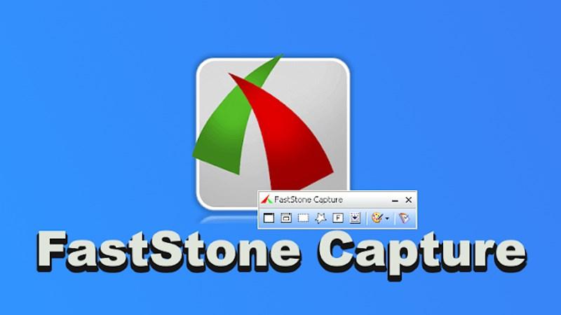 Phần mềm chụp màn hình FastStone Capture