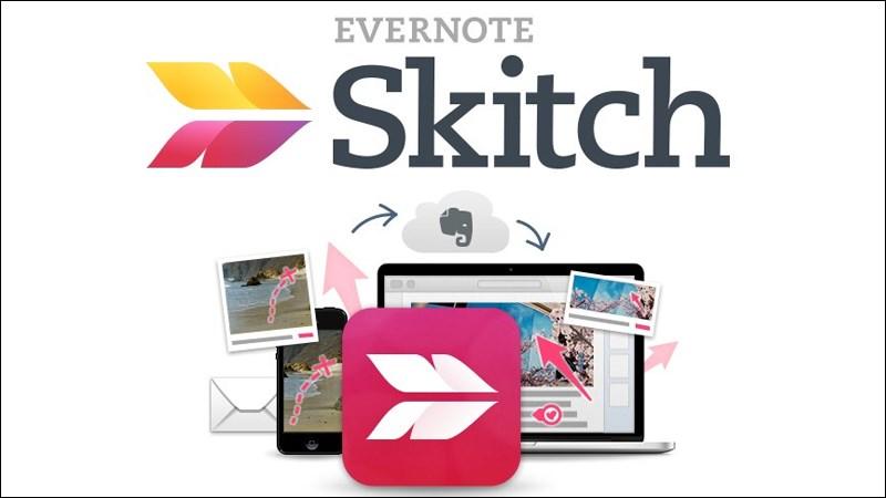 Phần mềm chụp màn hình Skitch
