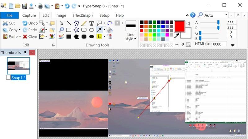 Phần mềm chụp màn hình HyperSnap
