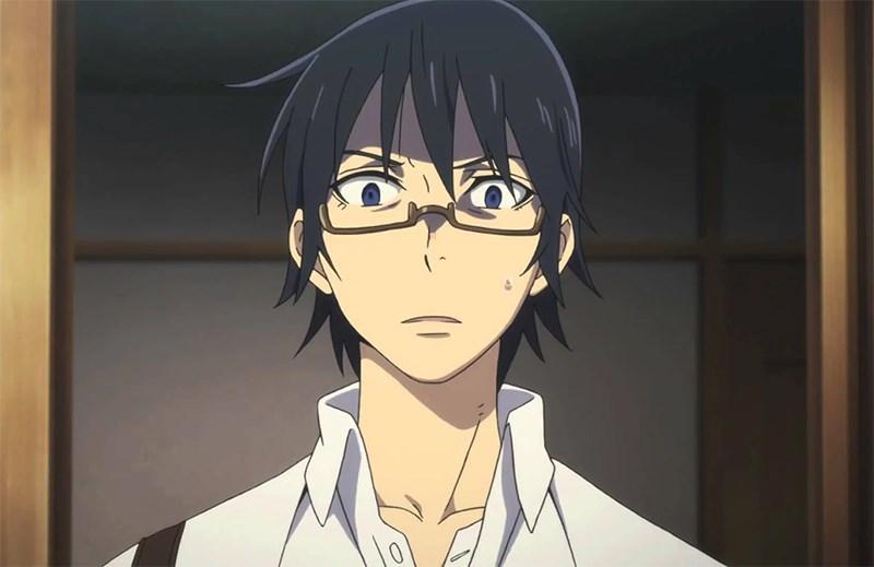 Satoru bàng hoàng khi nhìn thấy mẹ chết