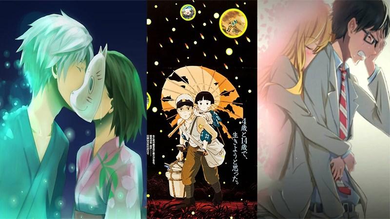 Top anime buồn, cảm động nhất