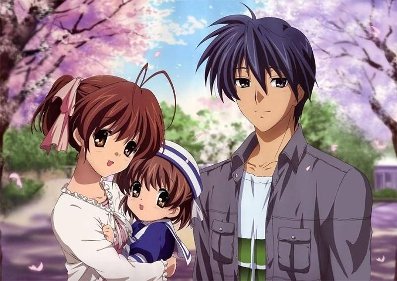 Gia đình Nagisa, Tomoya và con gái Ushio