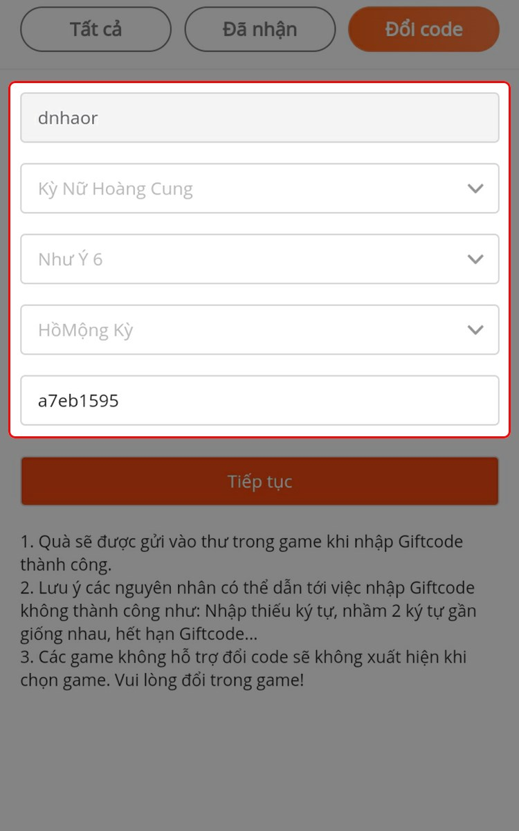 Hướng dẫn cách nhận, nhập giftcode Kỳ Nữ Hoàng Cung 7444-750x1200