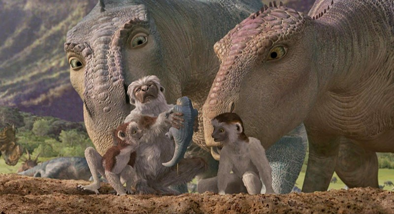Tạo hình các nhân vật khủng long trong Dinosaur