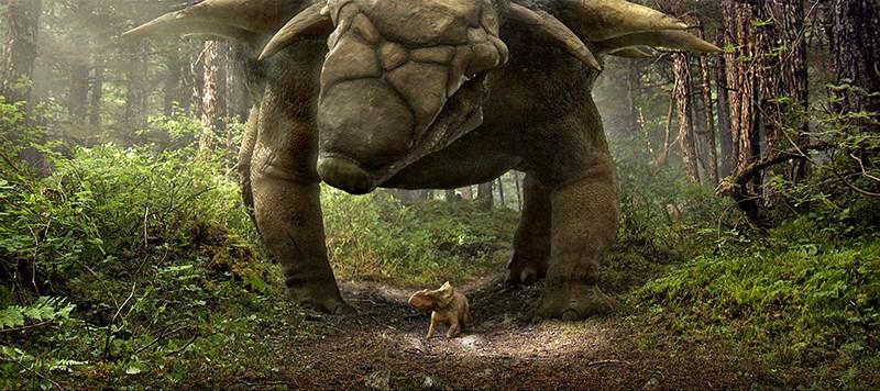 Phân cảnh trong phim Land of the Lost
