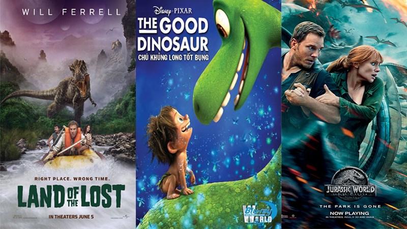 Top 10 phim khủng long hay nhất từ trước đến nay
