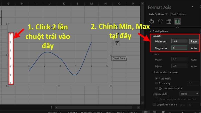 Cách vẽ đồ thị hàm số trong Excel cực đơn giản, chi tiết