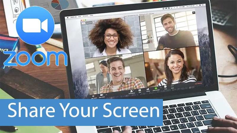 Hướng dẫn chia sẻ màn hình trên Zoom
