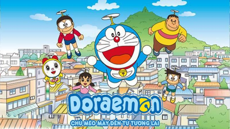 Poster của bộ phim Doraemon