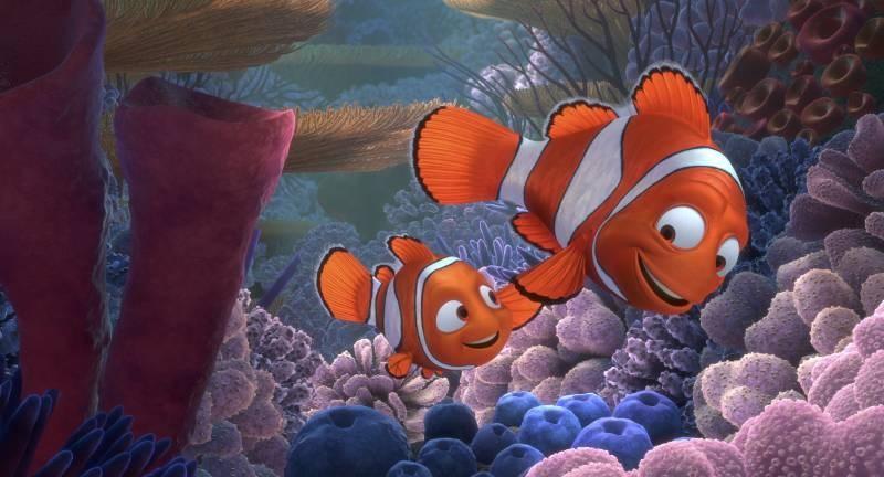 Marlin và con mình - Nemo