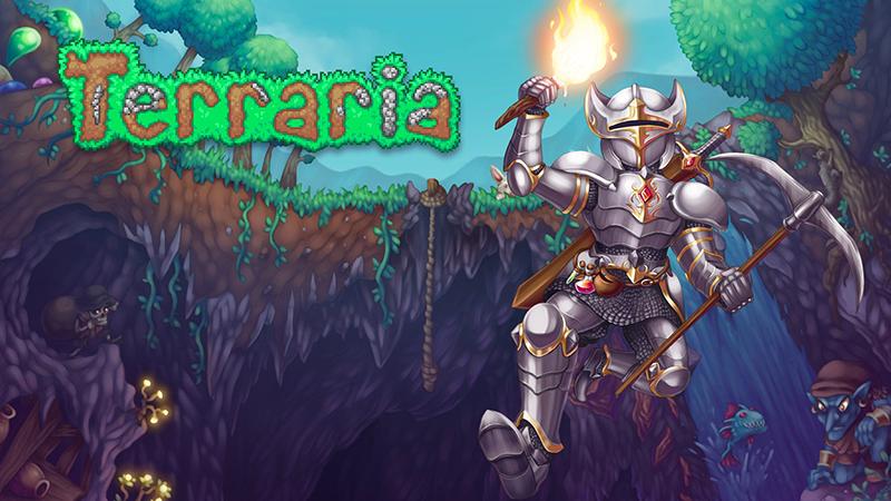Terraria có hơn 400 loại vũ khí, cùng nhiều trang bị đặc biệt