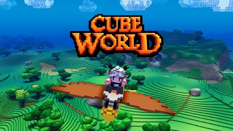 Người chơi sẽ được phép sáng tạo nhân vật thông qua các hình khối trong CubeWorld