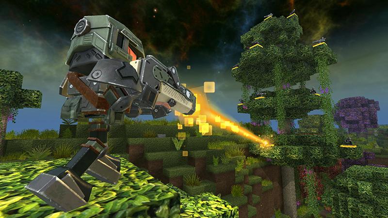 Block Fortress có ba chế độ chơi bao gồm: Survival, Sandbox và QuickStart