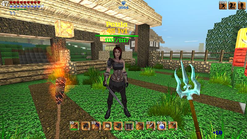 Block Story cho phép người chơi đồng bộ hoá tài khoản trên máy tính và di động