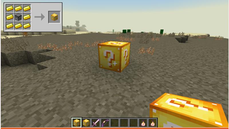 Lucky Block có hơn 100 món đồ sẽ xuất hiện ngẫu nhiên trong hộp quà