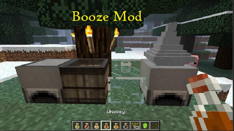 Booze mô phỏng quá trình sản xuất đồ uống có cồn như bia, rượu,...
