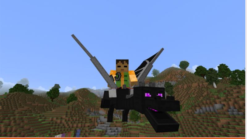 Animal Bikes giúp nhân vật có thể cưỡi bất kỳ loài sinh vật sống nào trong Minecraft