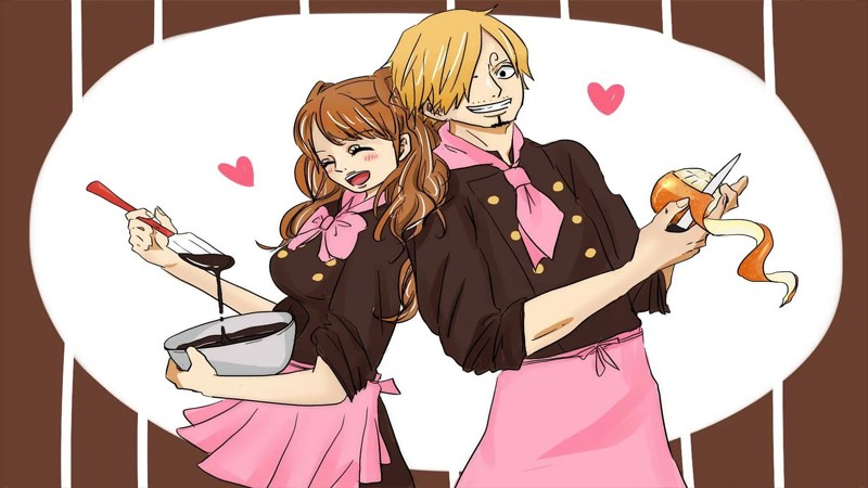 Sanji - Pudding