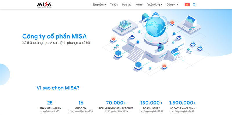 Trang chủ Misa.vn